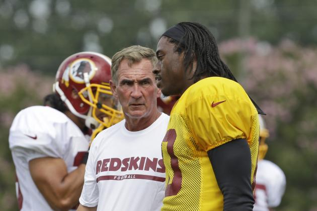 Robert Griffin III Called Mike Shanahan Prior to Signing with Browns