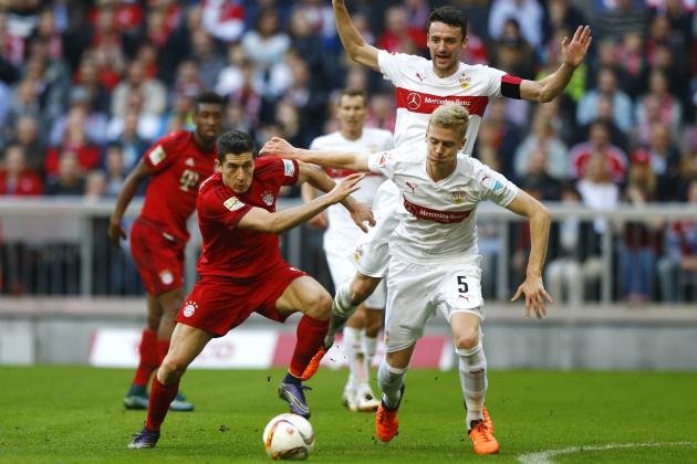 Stuttgart Bungakam Bayern 4 -1 Di Laga Terakhir