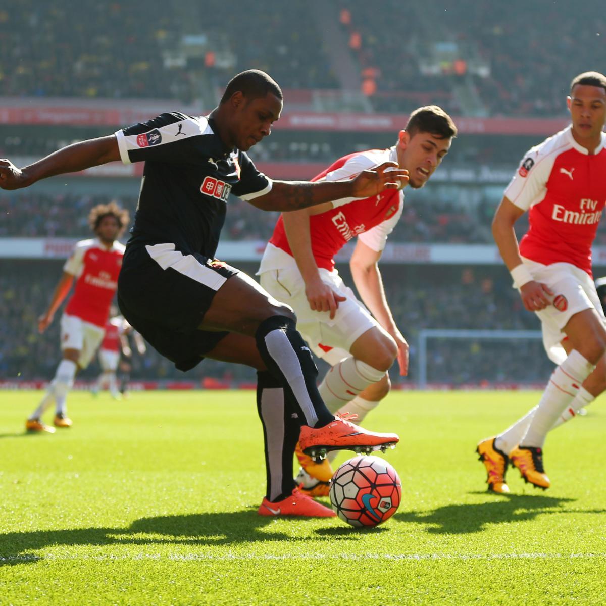 Arsenal Vs Tottenham Live Score Highlights From Premier: Arsenal Vs. Watford: Live Score, Highlights From Premier