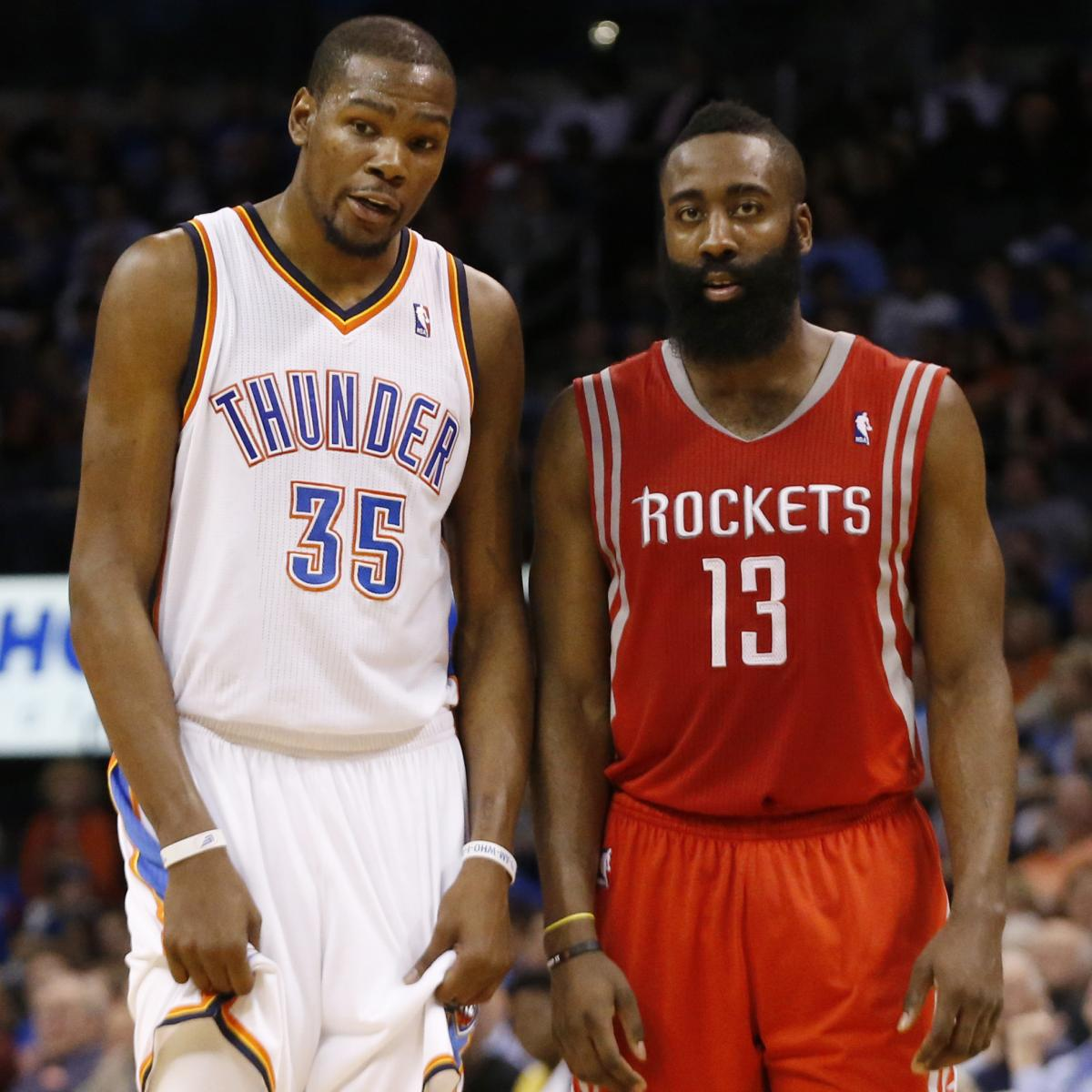 James Harden Free Agency: Kevin Durant Rumors: James Harden Reportedly Asked By
