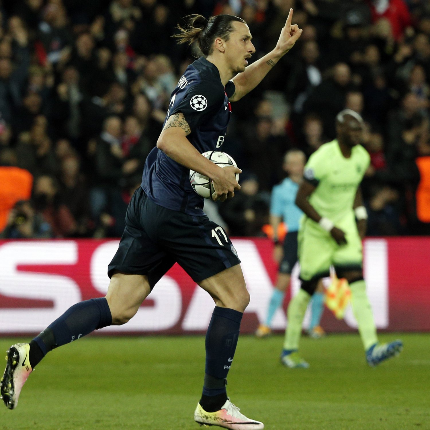 PSG Vs. Manchester City: Live Score, Highlights From