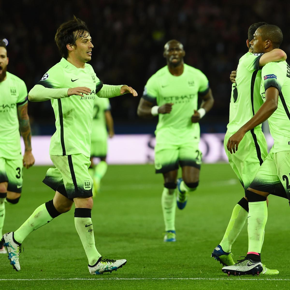 Arsenal Vs Psg Score Reaction From 2016 Champions: PSG Vs. Manchester City: Score, Reaction From 2016