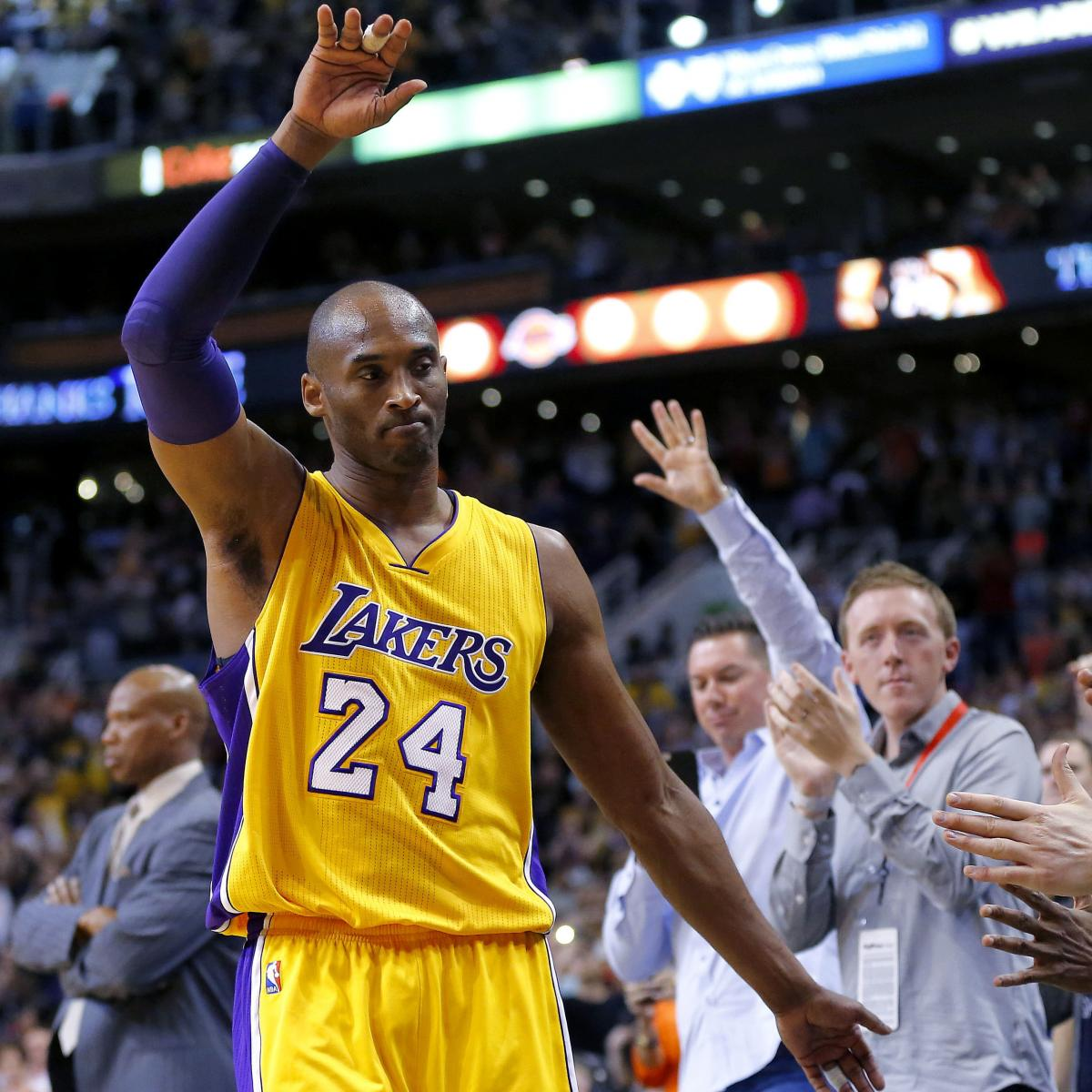 Kobe Bryant to Be Honored by Nike on April 13 with 'Mamba Day' | Bleacher Report | Latest News ...