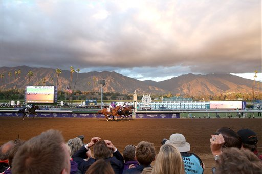 Santa Anita Derby 2016 Results Winner Payouts And Order