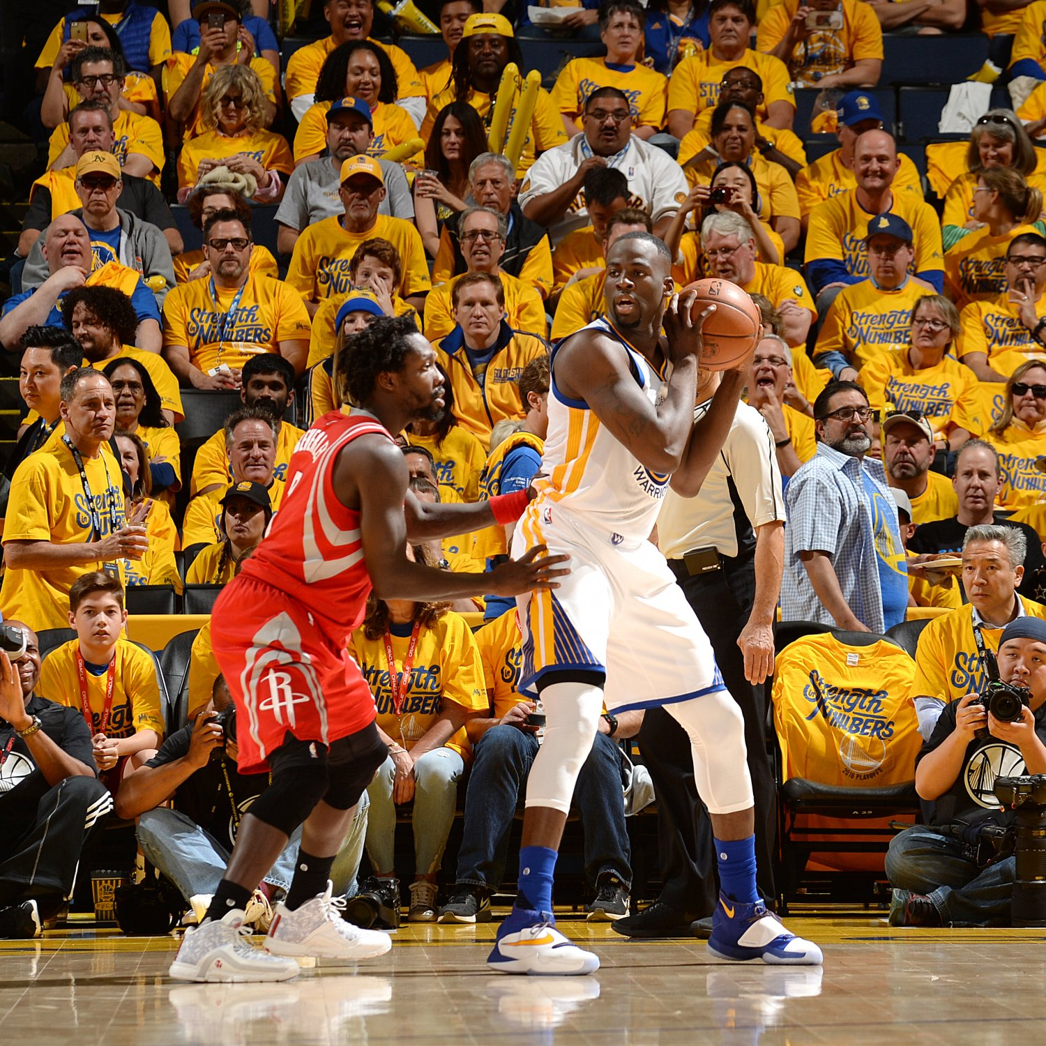 Rockets And The Warriors Game: Live: Rockets Vs. Warriors Game 2