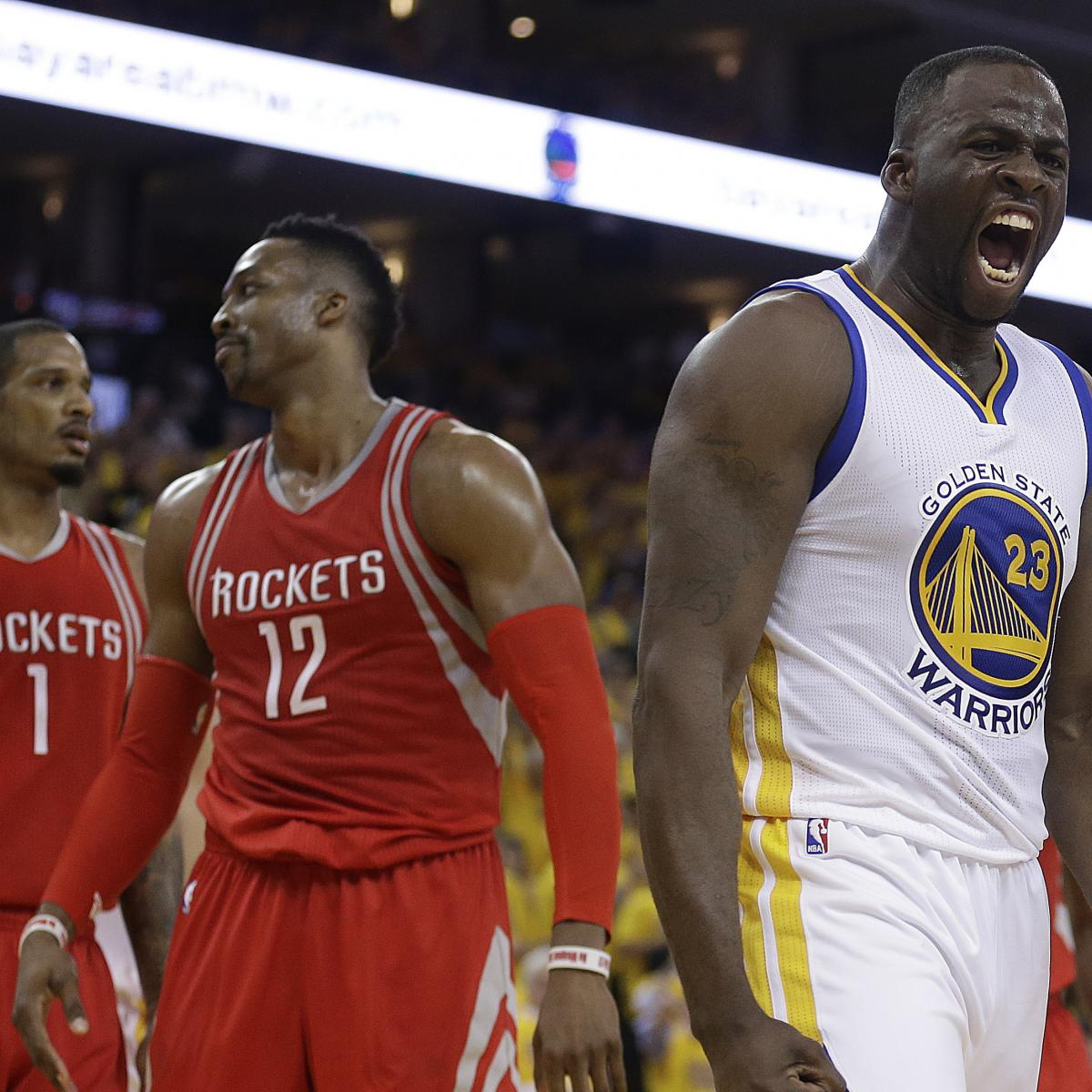 Rockets Vs. Warriors: Game 2 Score And Twitter Reaction