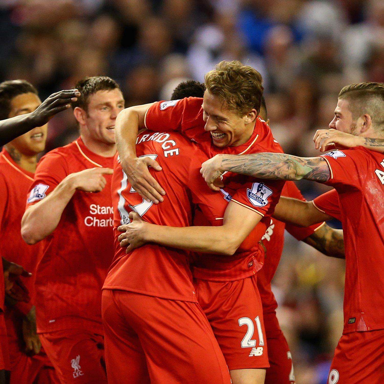Liverpool 4 0 Borussia Dortmund Match Report Philippe: Liverpool Vs. Everton: Score, Reaction From 2016 Premier