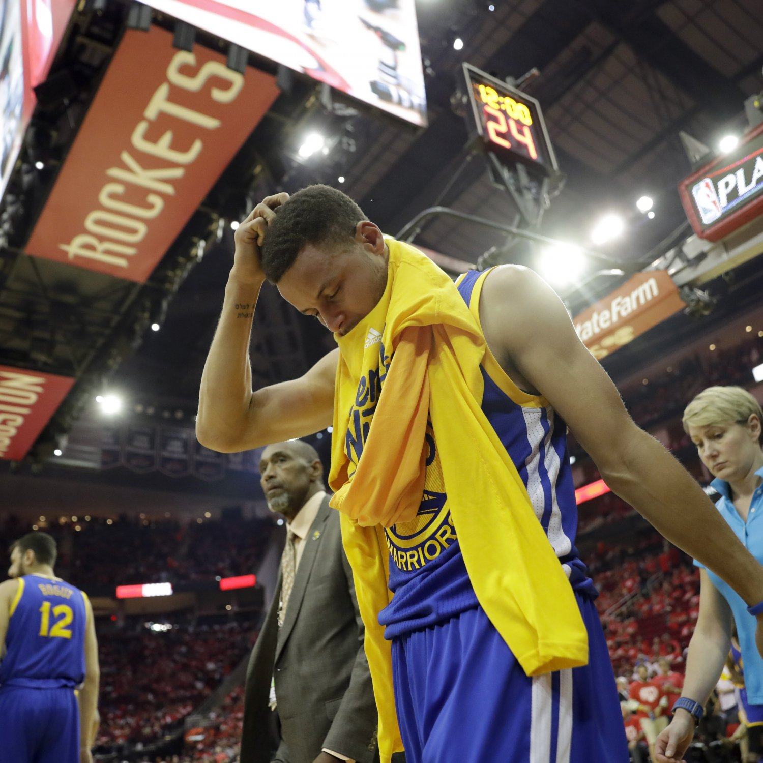 Rockets Vs Warriors Head To Head: Stephen Curry Cried After Being Told He Couldn't Return Vs