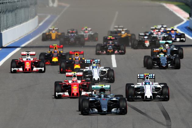 GP da Rússia, Sochi, de Formula 1 foto by Bleacher Report