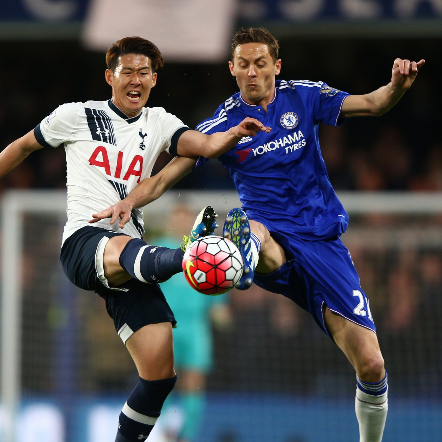 Chelsea Vs Tottenham Score Reaction From 2016 Premier: Chelsea Vs. Tottenham Hotspur: Live Score, Highlights From