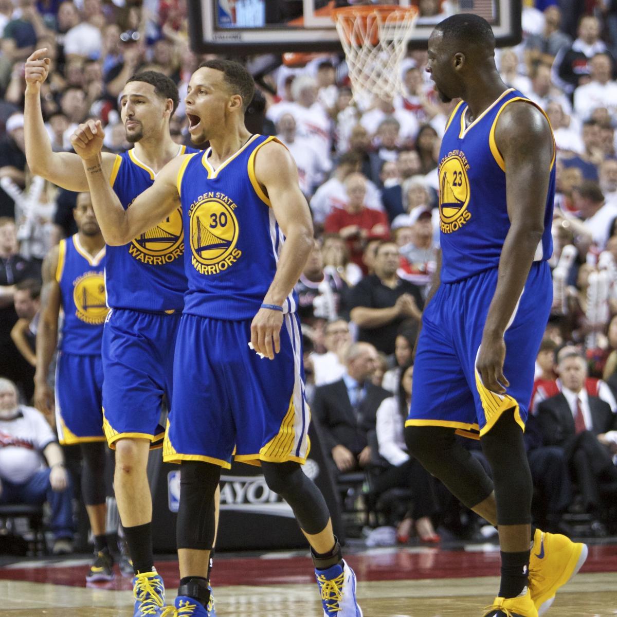 Portland Blazers Game Score: Warriors Vs Trail Blazers: Game 4 Score, Twitter Reaction