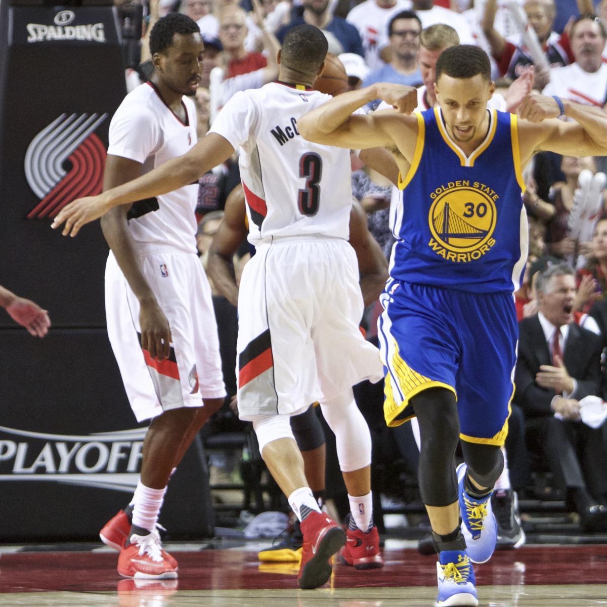 Warriors Vs Trail Blazers: Game 4 Video Highlights, Recap