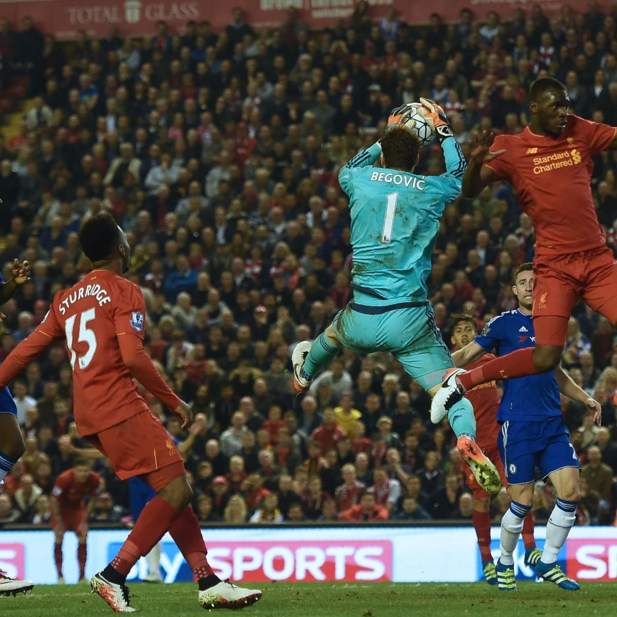 Liverpool Vs Chelsea: Liverpool Vs. Chelsea: Score, Reaction From 2016 Premier