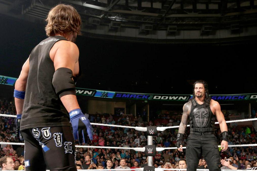 Roman Reigns Vs Aj Styles Wwe Extreme Rules 2016 Odds