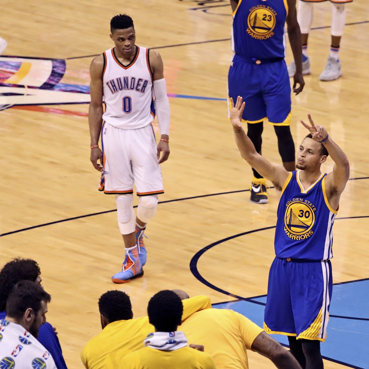 Warriors Game Broadcast Tv: NBA Playoffs 2016: TV Schedule, Date And Odds For Thunder