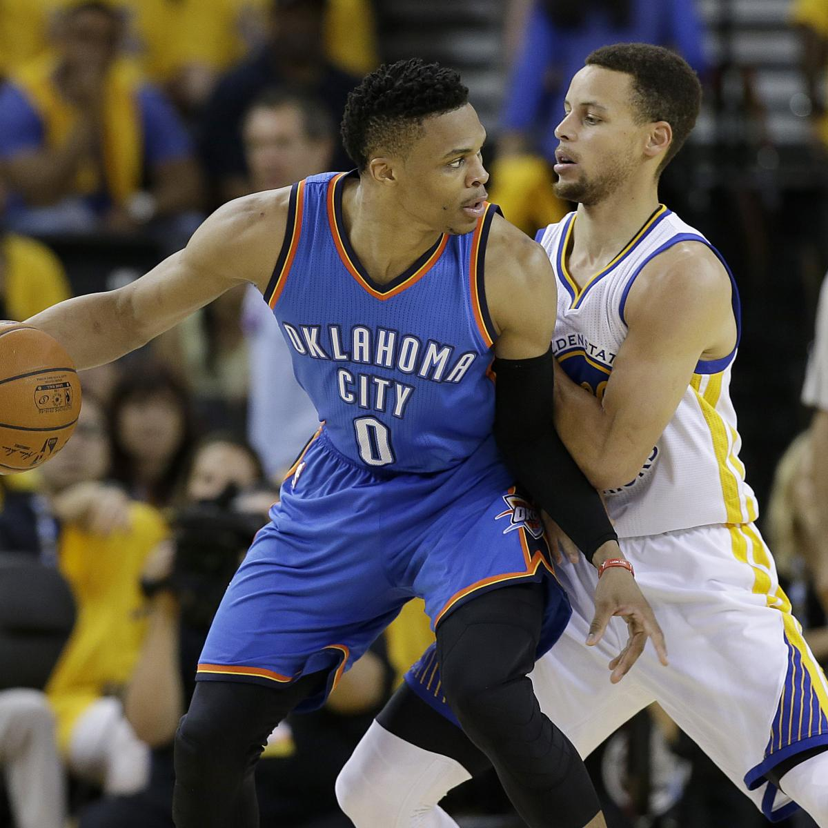 Thunder Vs. Warriors Game 7 Was NBA's Highest-Rated Game