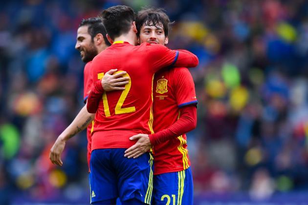 Spain vs South Korea