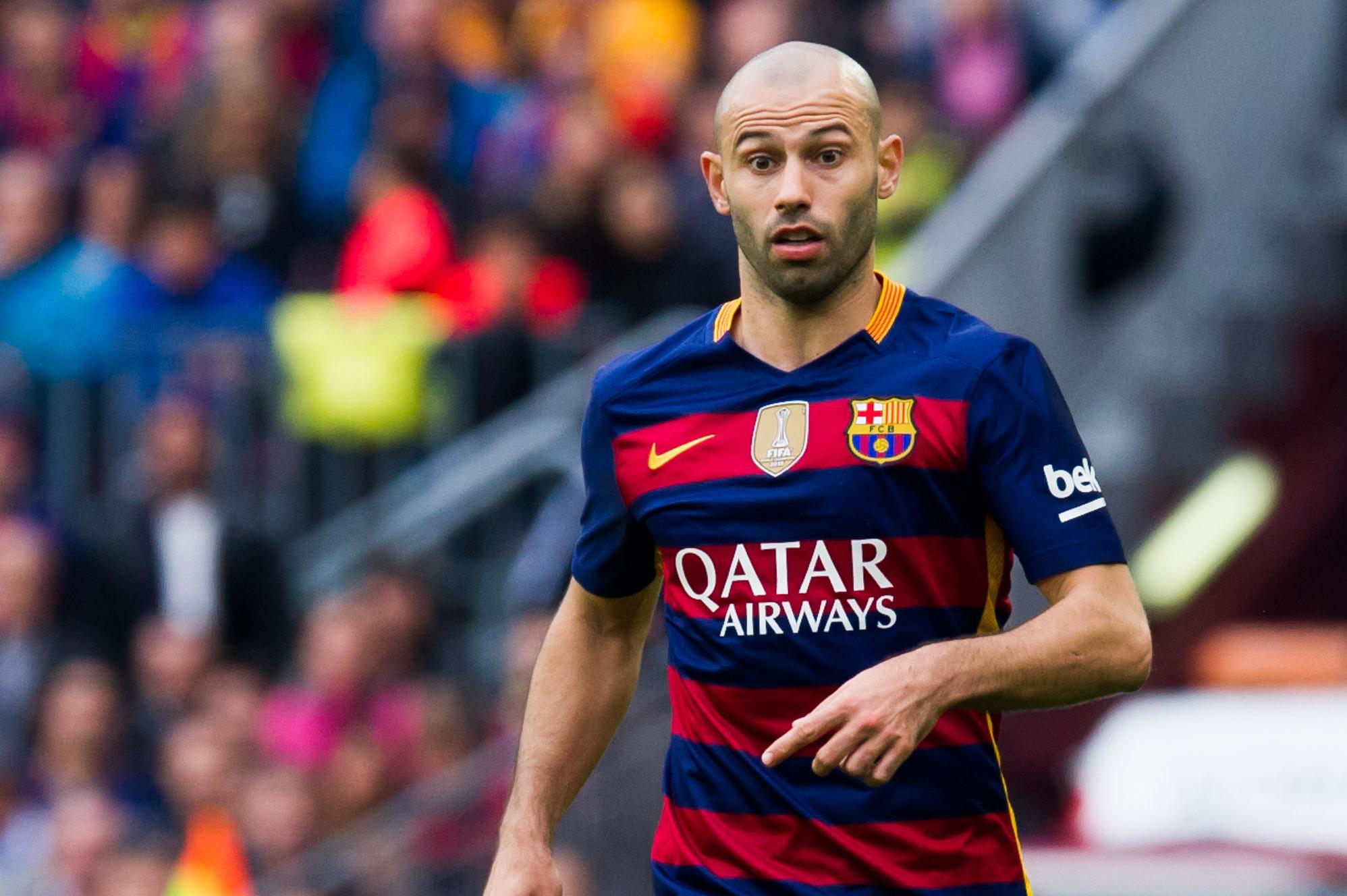 Barcelona transfer news javier mascherano stay expected - Javier suarez ...