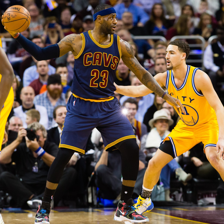 NBA Finals 2016: Cavaliers Vs. Warriors Game 1 Odds, Props