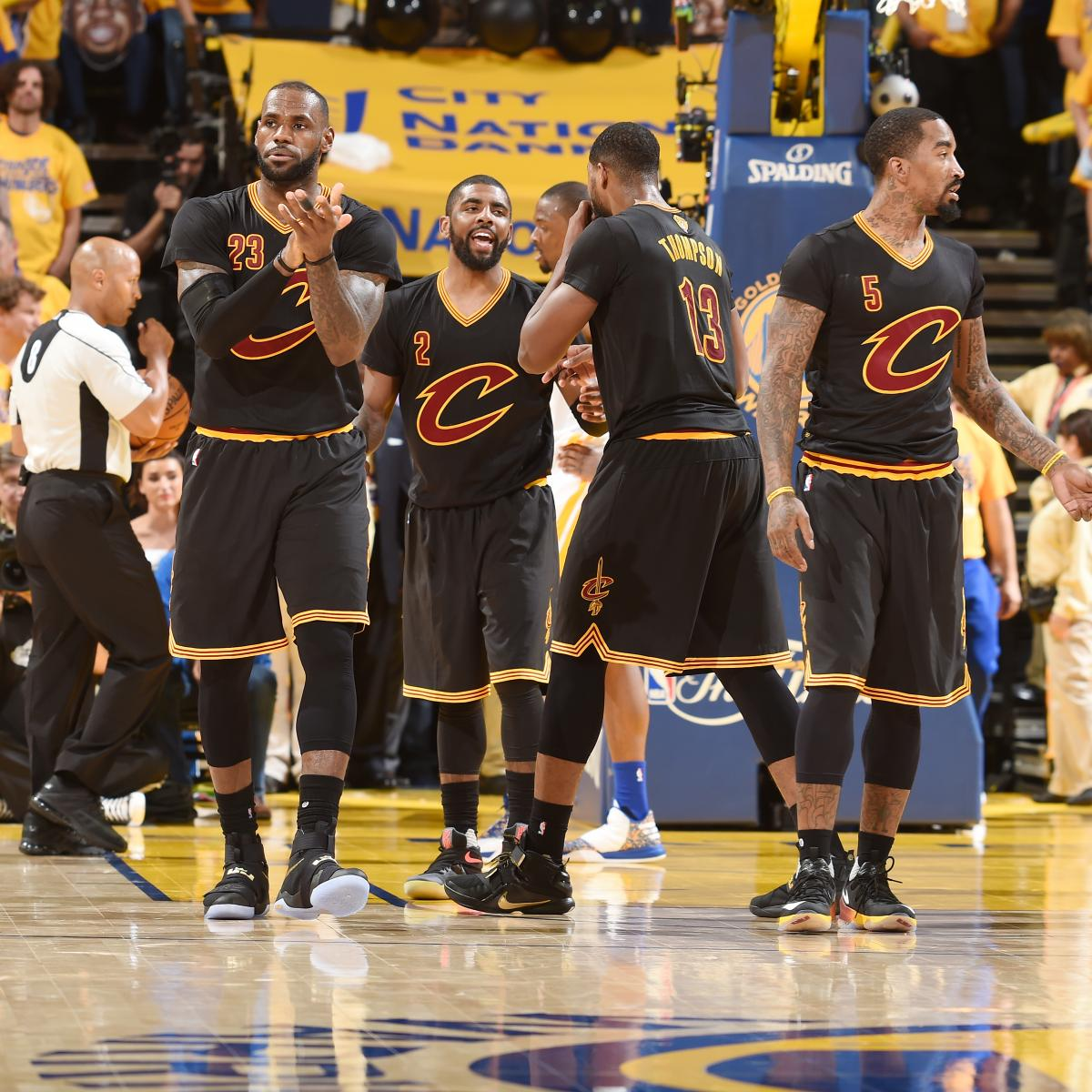 Warriors Come Out To Play Bleacher Report: NBA Finals 2016: Warriors Vs. Cavs Game 6 TV Schedule