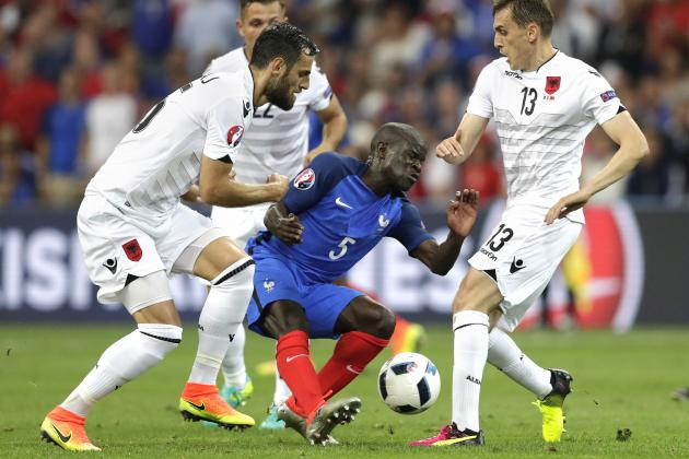 Frankreich Albanien