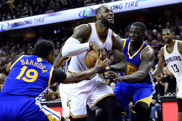 Cavaliers vs. Warriors: Game 6 Stats and NBA Finals 2016 Game 7 Schedule, Odds