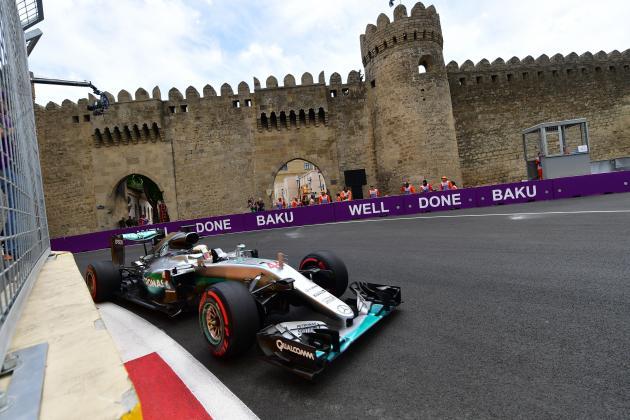 Formel 1 Baku Start