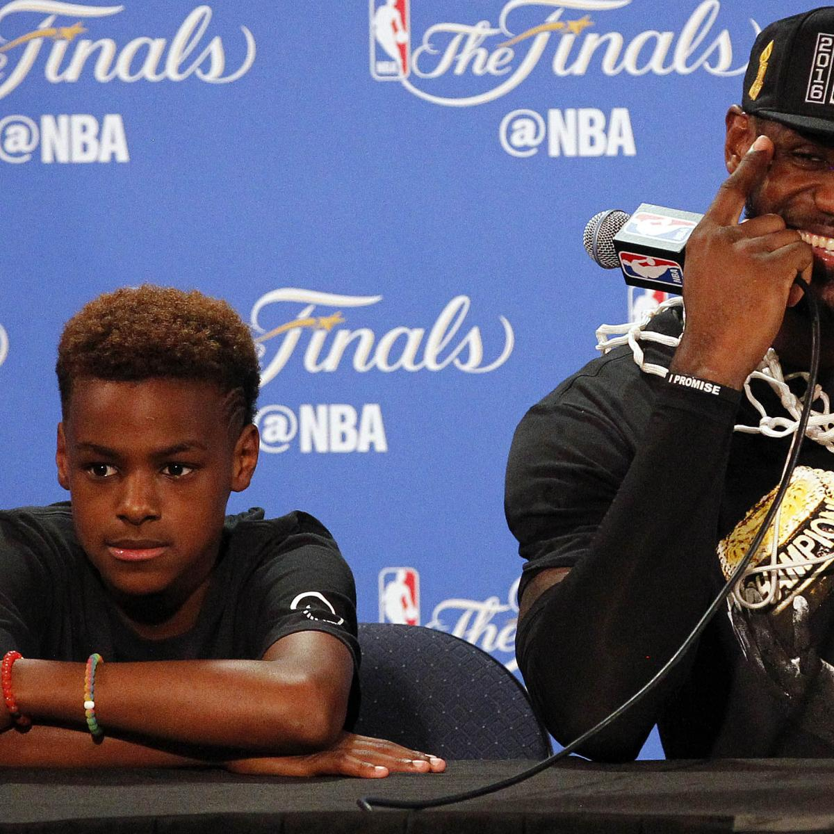 LeBron James Jr. Reportedly Has Scholarship Offers from ...