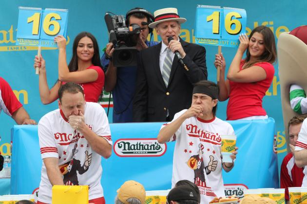 Nathan S Hot Dog Eating Contest Women S Results