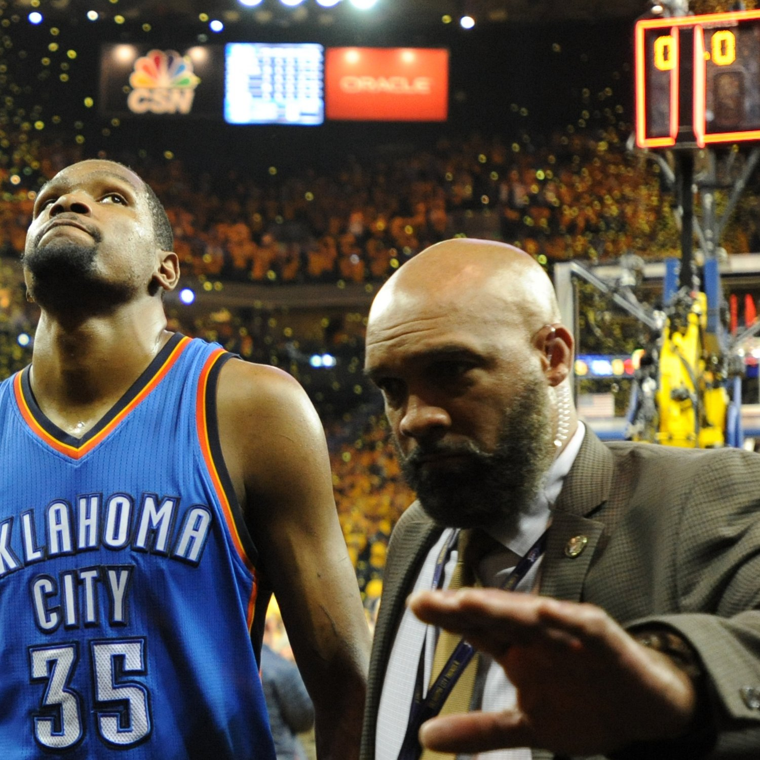 Thunder fans rip kevin durant 39 s restaurant after kd joins for Kd s restaurant