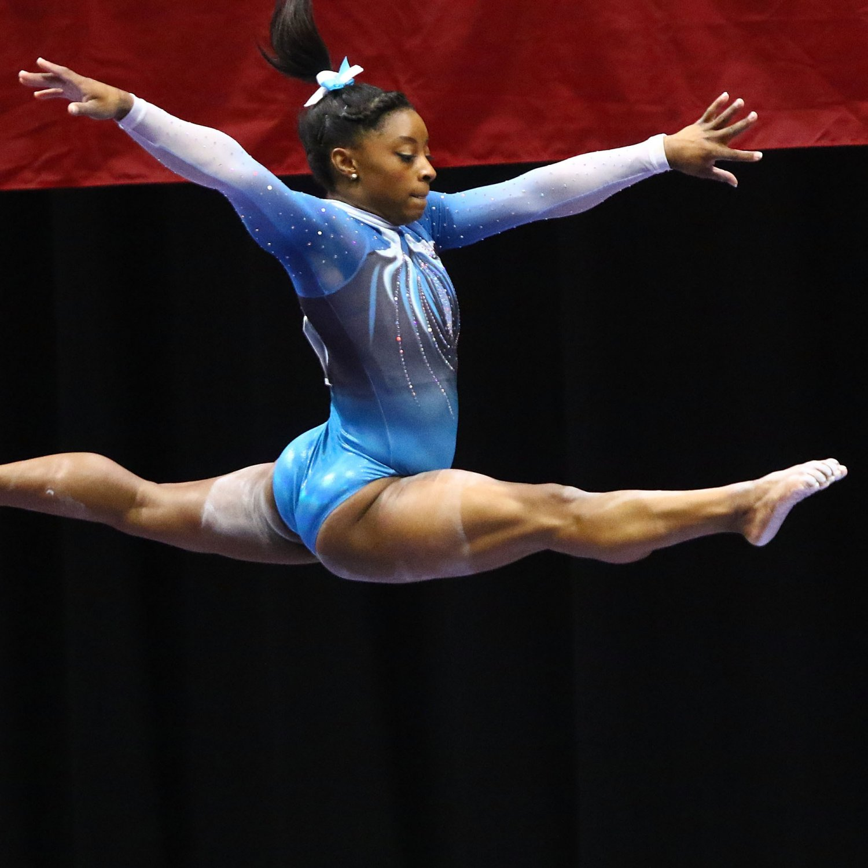 gymnastics olympic olympics trials simone biles womens bleacherreport