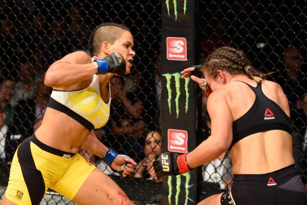 Amanda Nunes vs. Miesha Tate full fight video highlights
