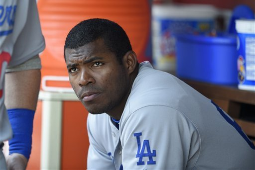 Dodgers' Yasiel Puig Oblique Injury Diagnosed as Strain After Exiting vs. Angels