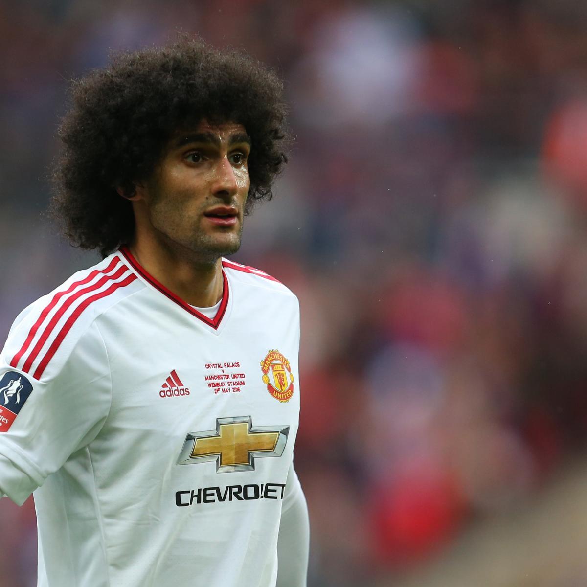 Manchester United Transfer News Latest Rumours On Lucas: Manchester United Transfer News: Latest Marouane Fellaini