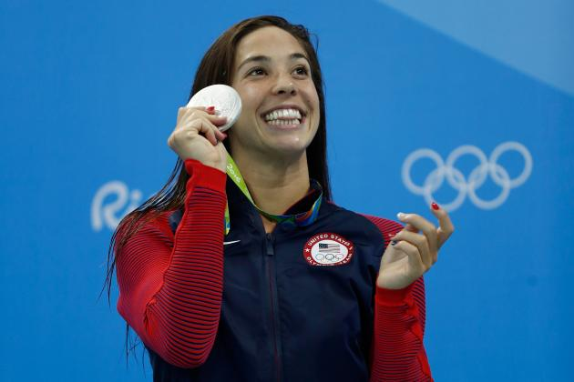 New US Swim Star Maya DiRado Starts with Silver, and Retirement Is Just Ahead