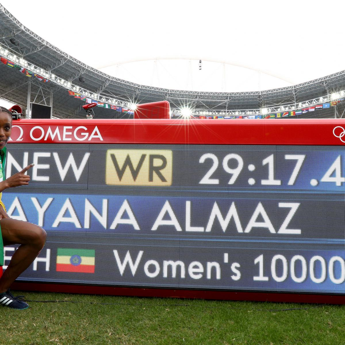Track Winner: Olympic Track And Field 2016: Women's 10,000M Medal