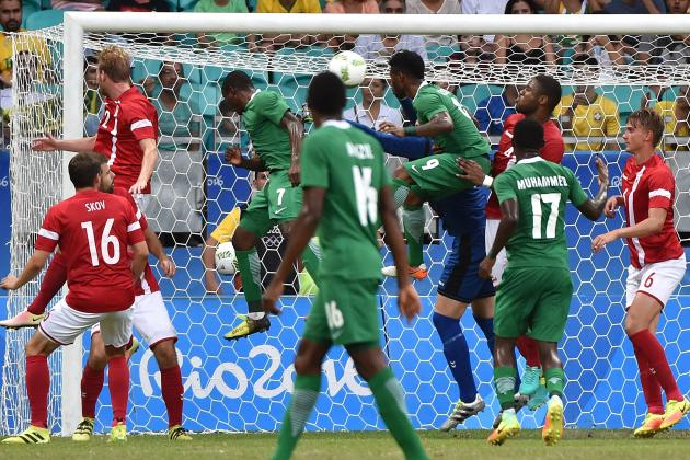 Nigeria vs. Denmark: Score and Reaction from 2016 Olympic Men's Soccer