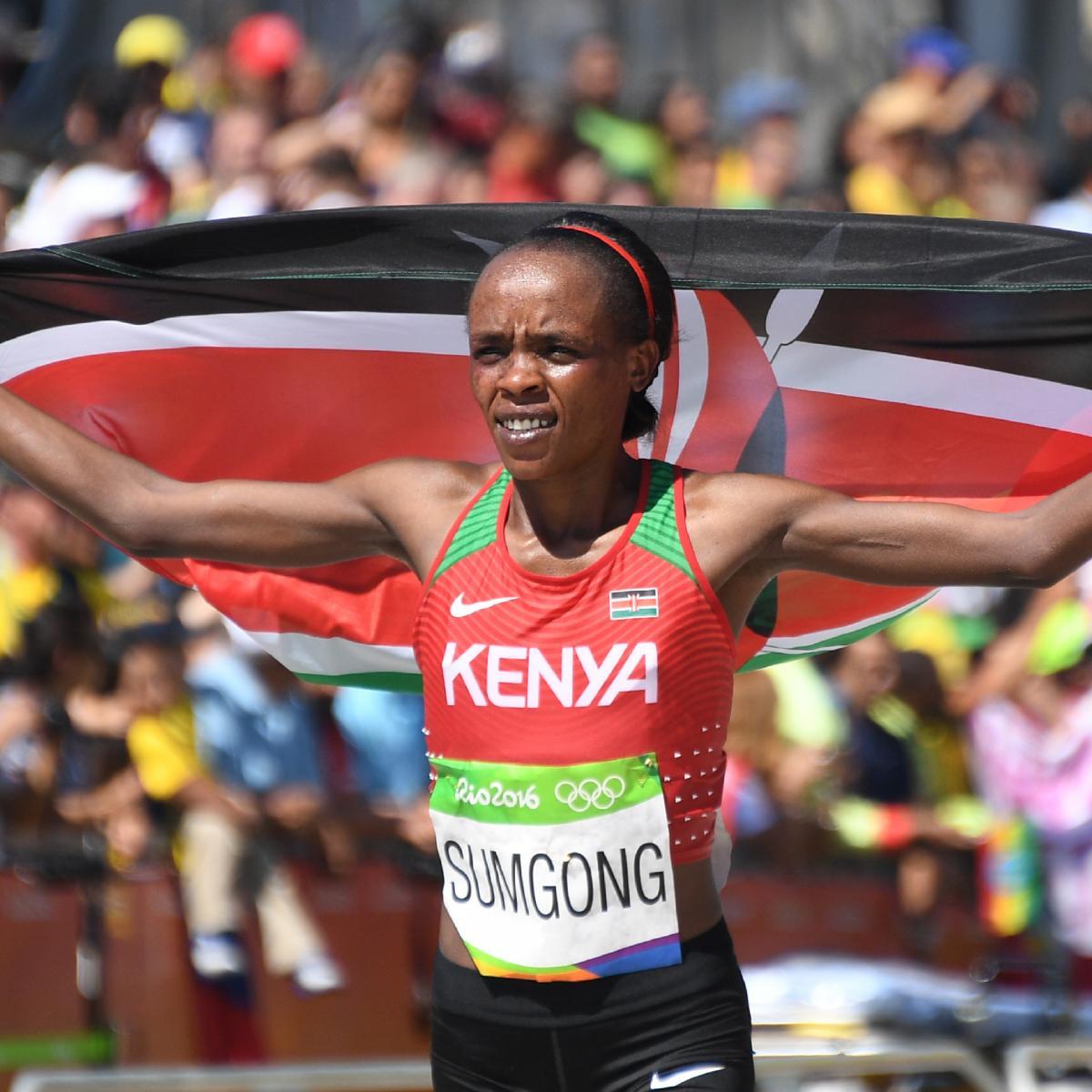 Track Winner: Olympic Track And Field 2016: Women's Marathon Medal