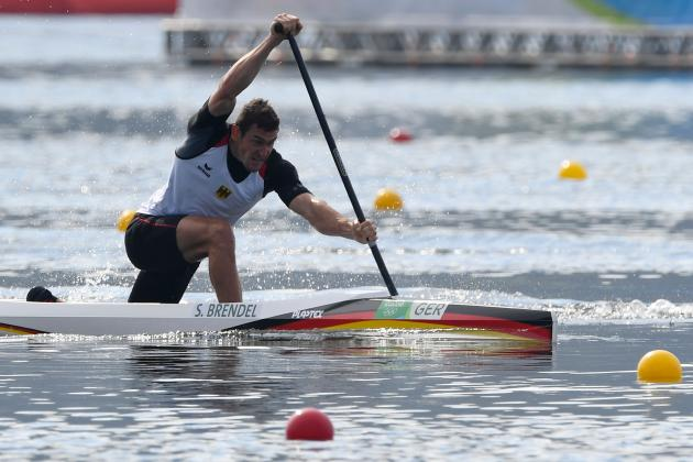 Germanys Sebastian Brendel Raced To A Second Consecutive Gold In The Olympic Final Of Mens 1000 Metre Canoe Single On Tuesday