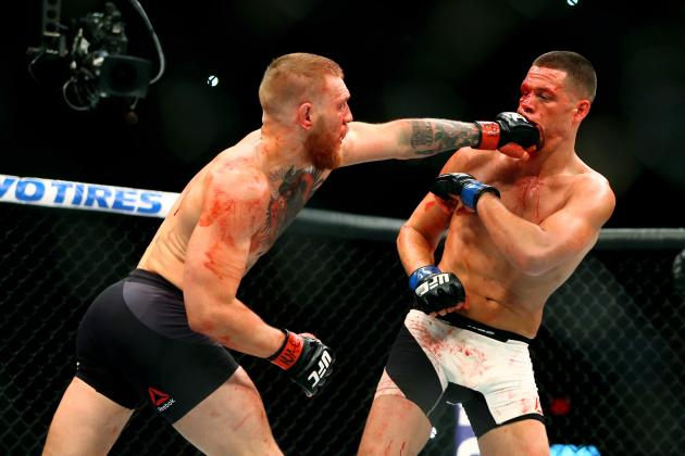 UFC 202 Fight Card: PPV Schedule, Odds and Predictions for Diaz vs. McGregor 2