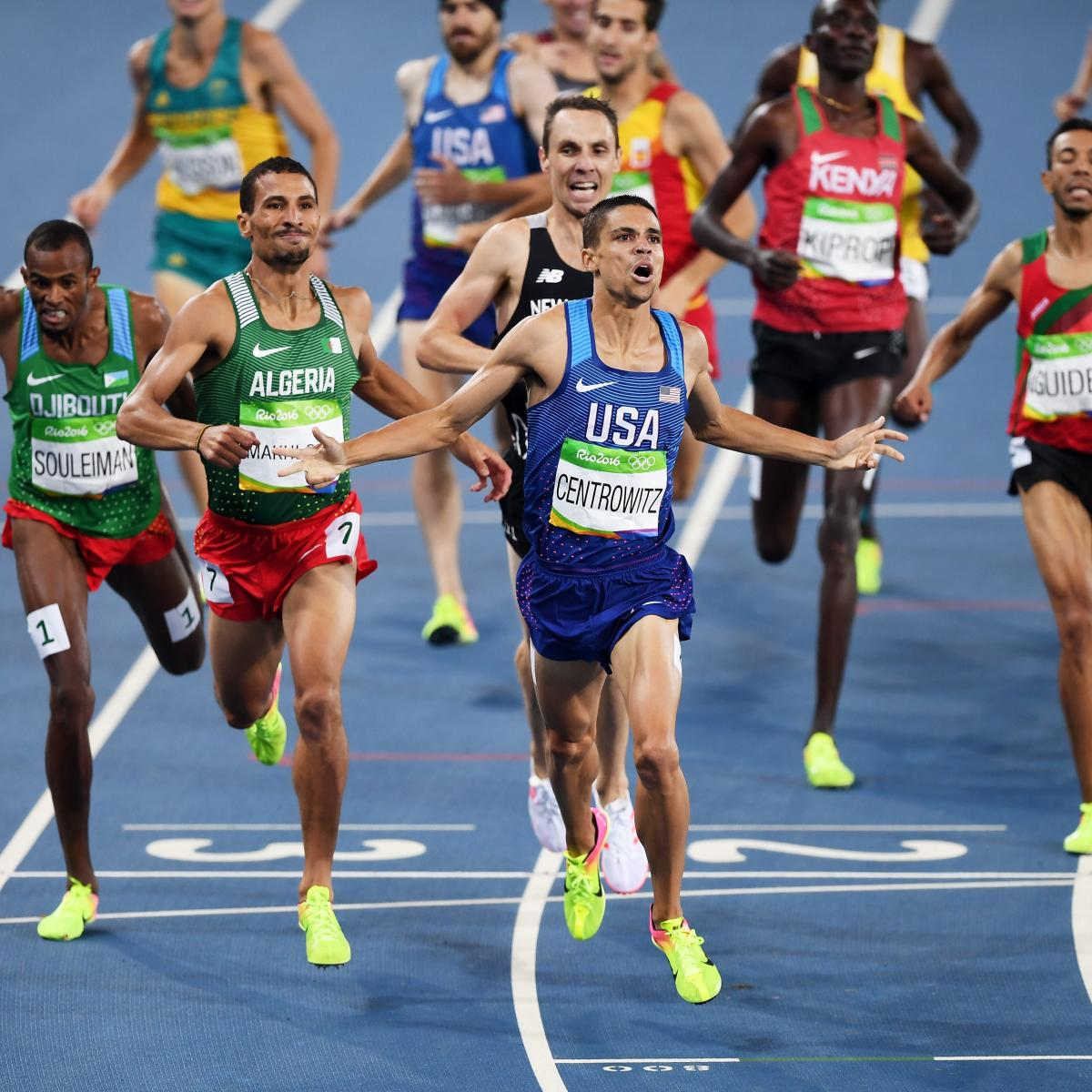 Track Winner: Olympic Track And Field 2016: Men's 1,500M Medal Winners