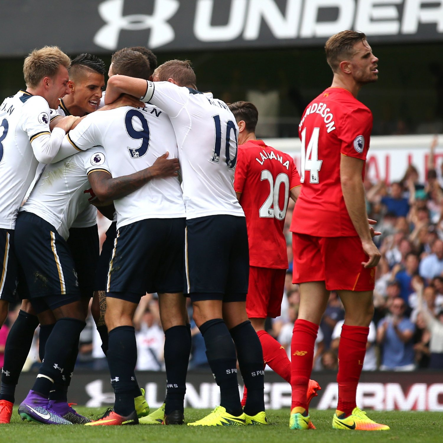 Chelsea Vs Tottenham Score Reaction From 2016 Premier: Tottenham Vs. Liverpool: Score And Reaction From 2016