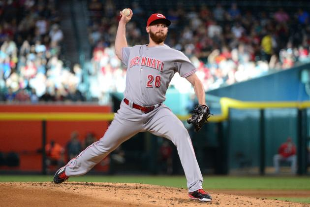 Reds P Anthony DeSclafani Throws His 1st Career Complete-Game Shutout