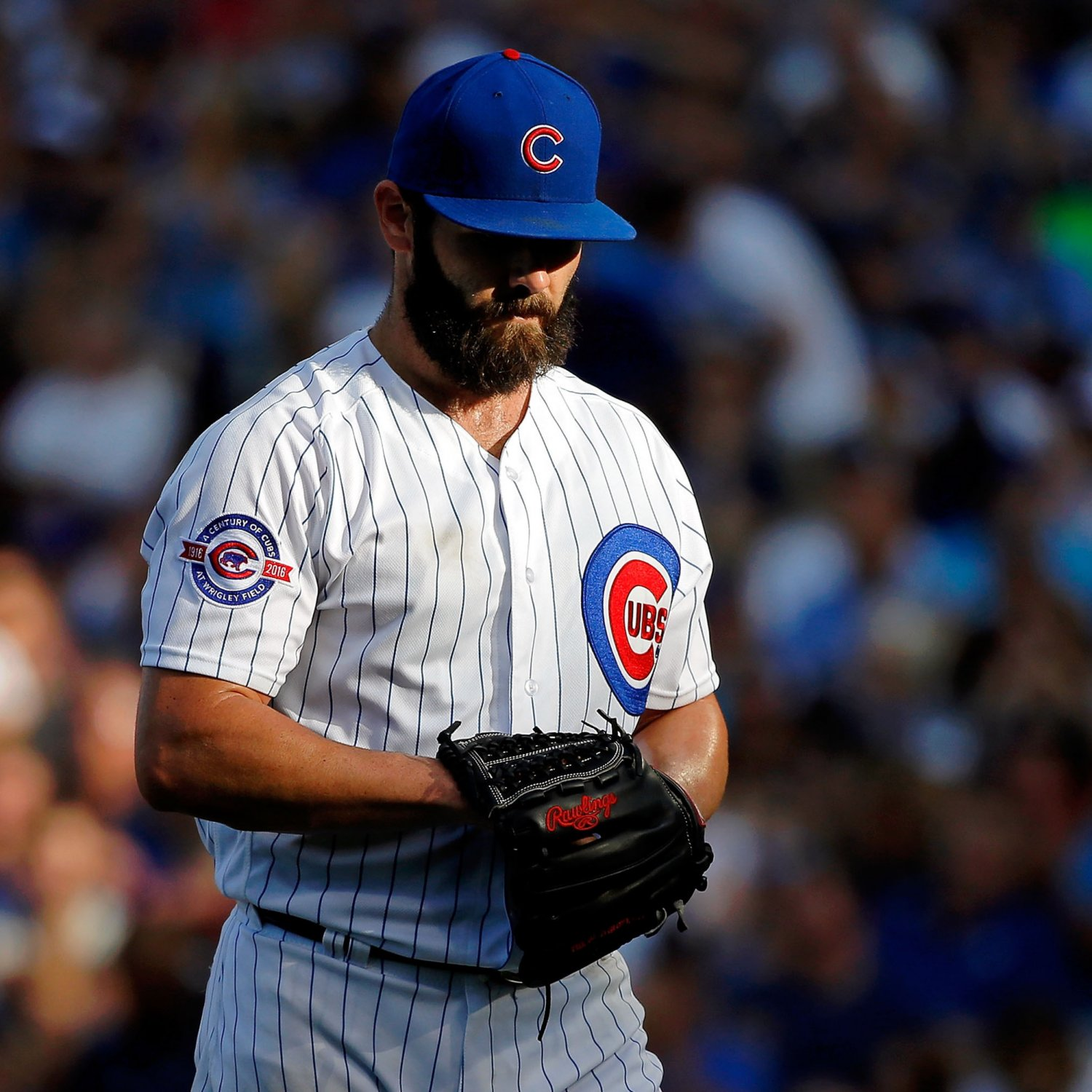 Jake Arrieta Has Gone from NL Cy Young Winner to Just Another Guy | Bleacher Report