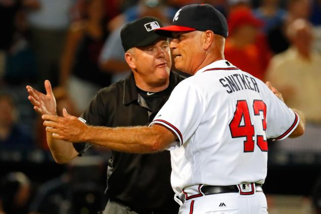 Brian Snitker Named Manager of Atlanta Braves | Bleacher ...