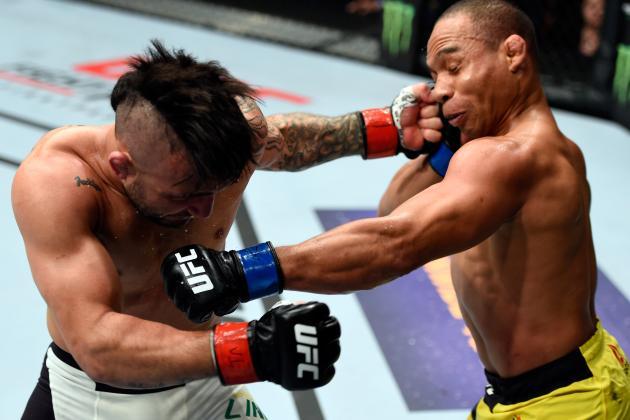 UFC Fight Night 96 Results: Winners, Scorecards for Lineker vs. Dodson Card