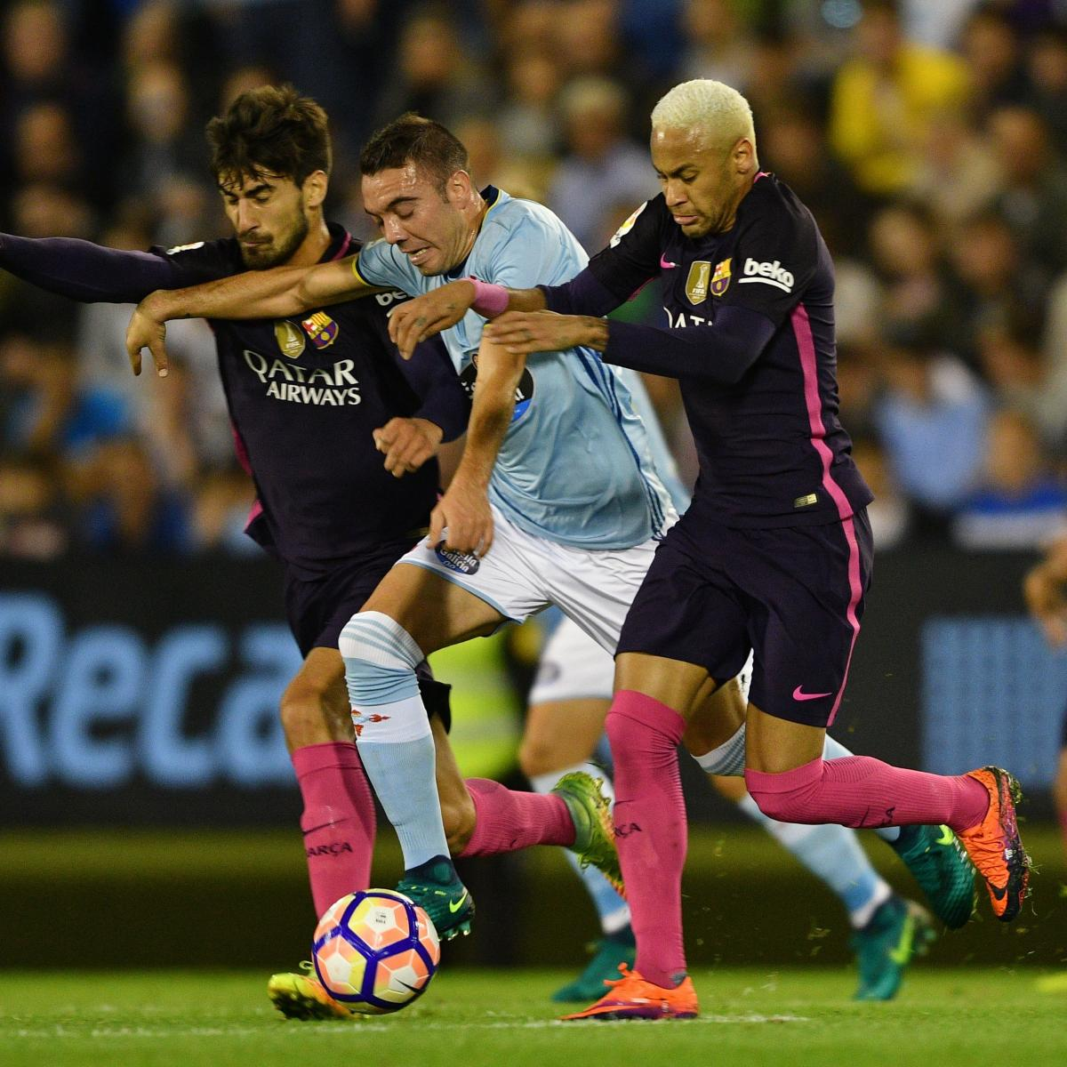 Barcelona Vs Celta Vigo In Youtube: Celta Vigo Vs. Barcelona: Score And Reaction From 2016 La