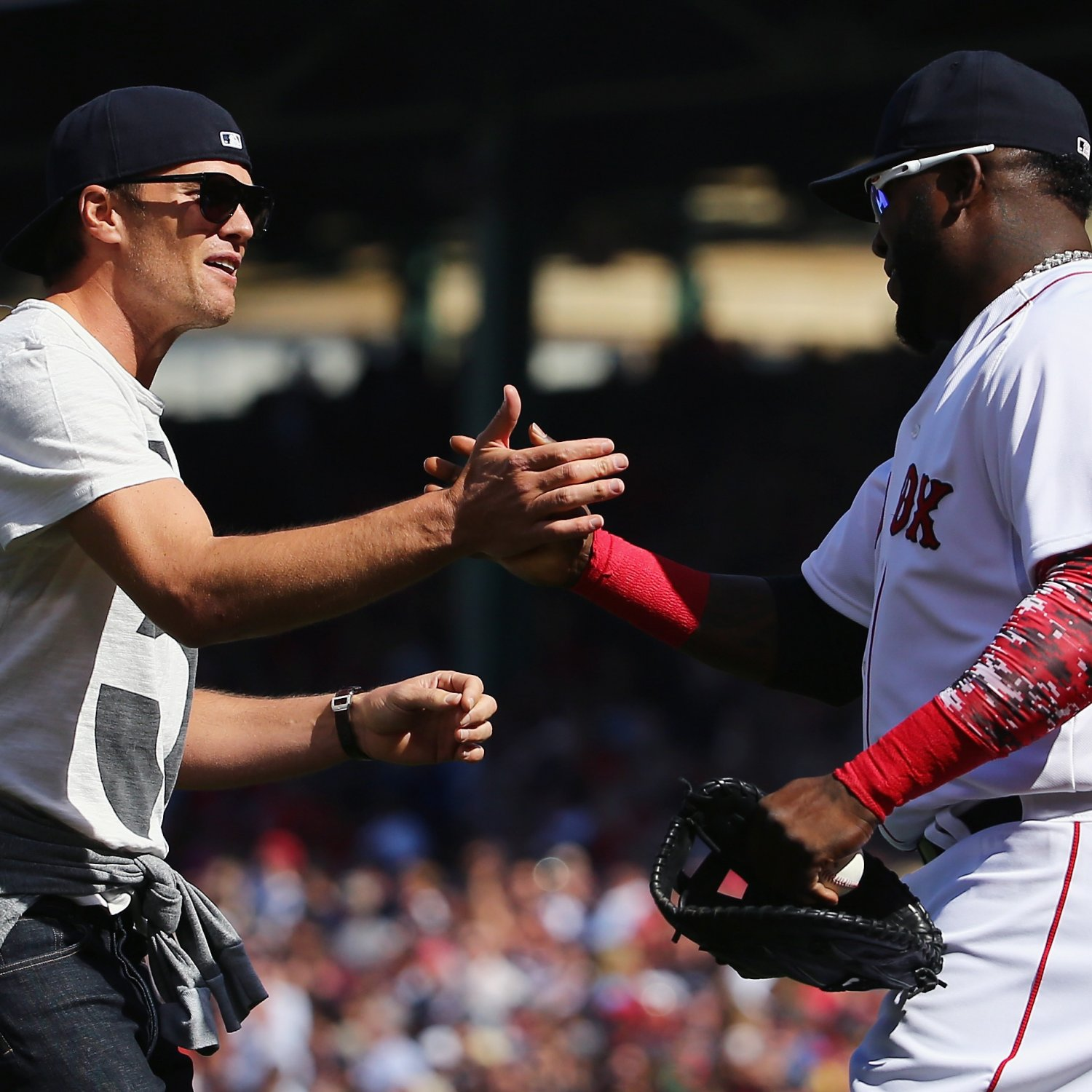 Tom Brady Salutes David Ortiz, Asks Him to Change Mind About Retirement | Bleacher Report