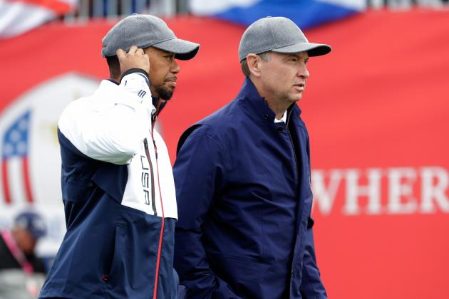 Tiger Woods, Davis Love III, Fred Couples Named Presidents Cup Asst. Captains