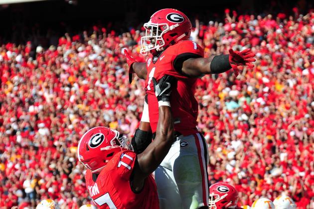 Georgia vs. South Carolina: Live Score, Highlights for ...